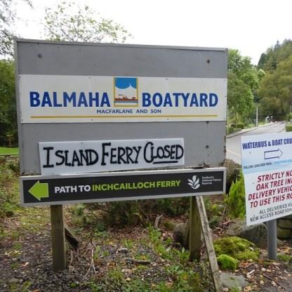 Balmaha notice 4