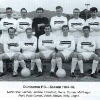Dumbarton FC 1964-65