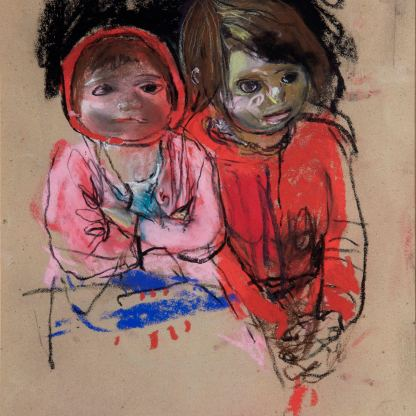 Eardley Two Glasgow Lassies, c.1962-3 (Private Collection)