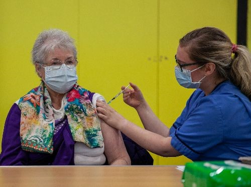 NHS Greater Glasgow and Clyde asks 45–49-year olds to 'Roll Up Your Sleeves' for the COVID-19 vaccination