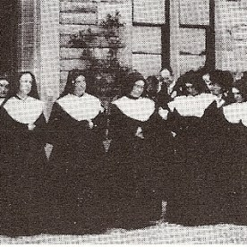 Notre Dame convent in Dumbarton - the oficial opening