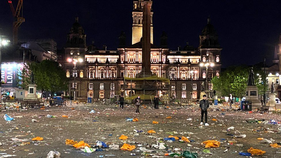 ENVIRONMENT: Rally held in George Square to highlight 'waste crisis'