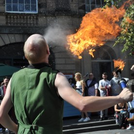 Fire eater festival 1