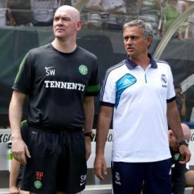 Woods Stevie and Jose Mourinho.