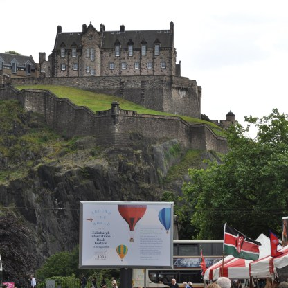 Edinburgh book festival poster