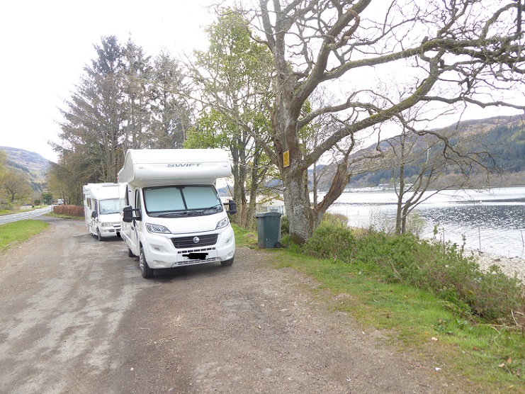 Camping with a Permit in the loch Lomond and Trossachs National Park