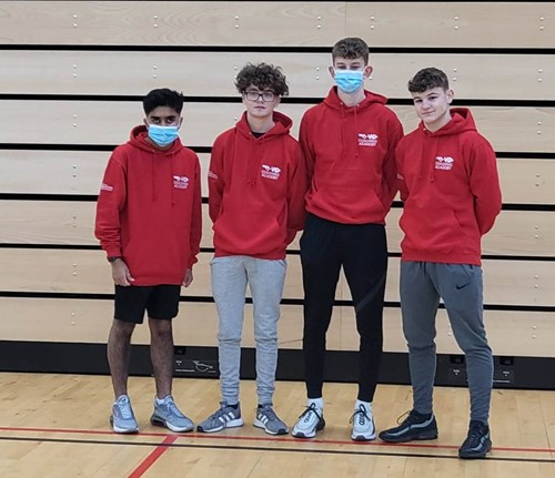 SPORT: Pupils volunteer to join the Coaching Academy
