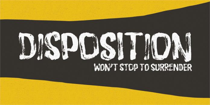 Disposition Font