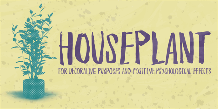 Houseplant Font