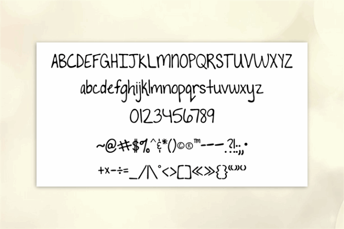 To The Point Font