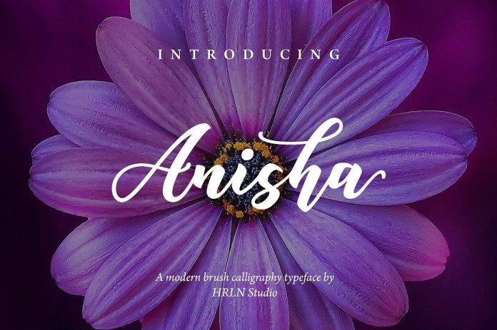 Anisha Script Font