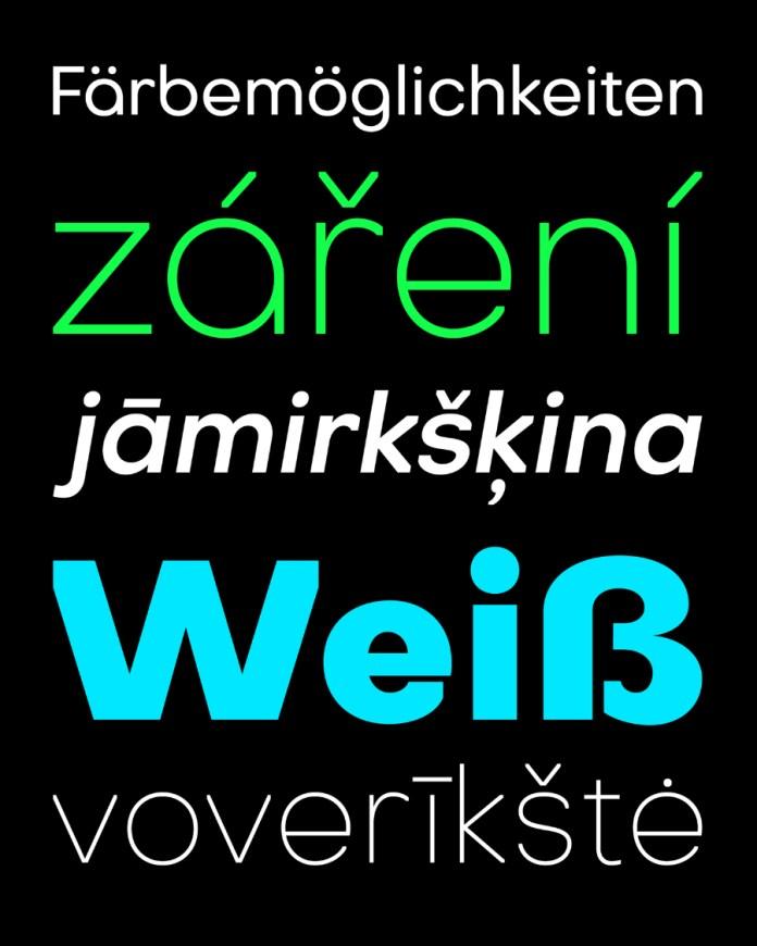 Octarine Font Family