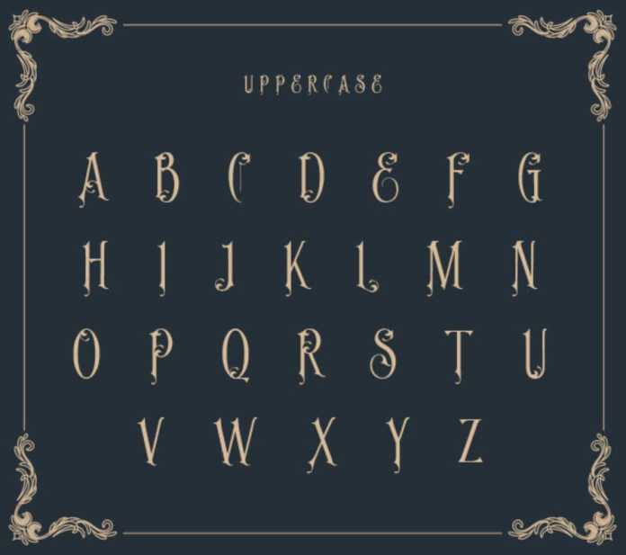 Prince of Java Typeface