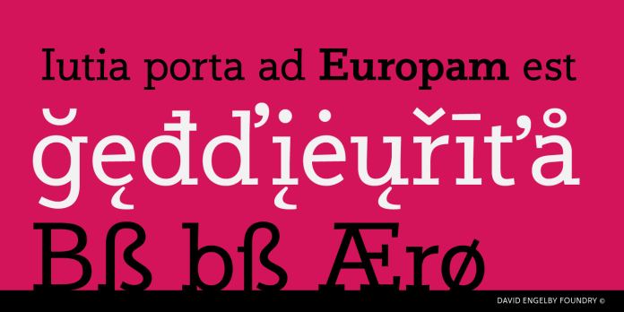Jutlandia Slab Font Family