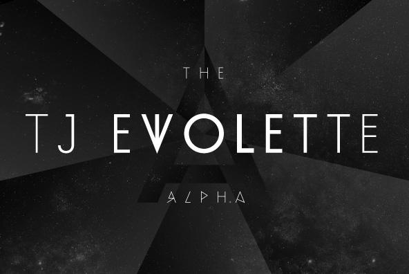 Evolette A Basic Font
