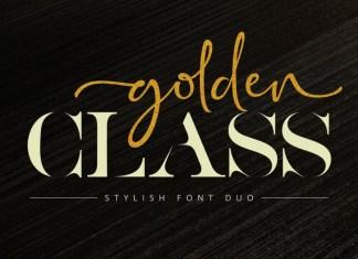 Golden Class Script Font