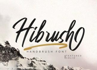 Hibrush Font
