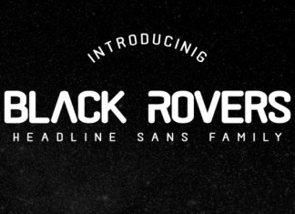 Black Rovers Font