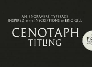 Cenotaph Titling Font
