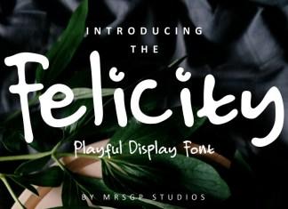 Felicity Natural Font