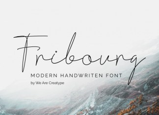 Fribourg Font