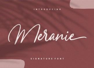 Meranie Font