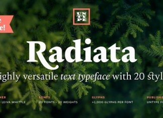 Radiata Font