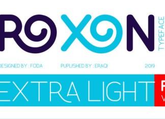 Roxon Font