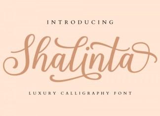 Shalinta Luxury Font