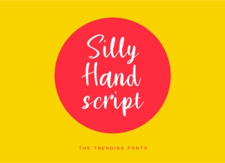 Silly Hand Font
