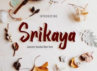 Srikaya Font