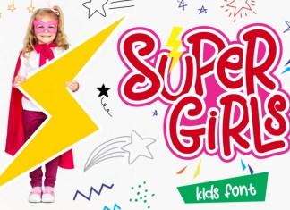 Super Girls Font