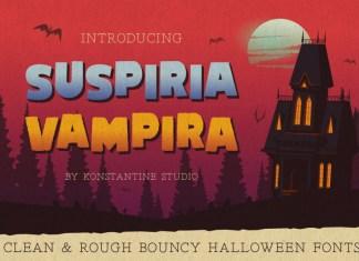 Suspiria Vampira Font