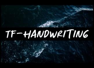 TF-Handwriting Font