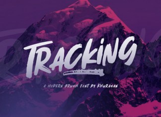 Tracking Font