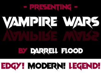 Vampire Wars Font
