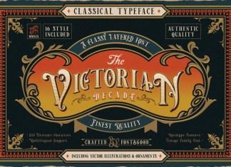 Victorian Decade Font