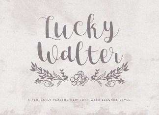 Lucky Walter Font