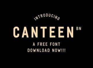 Canteen BN Font