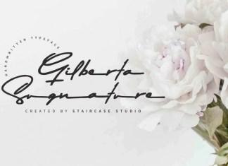 Gilberta Font