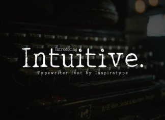 Intuitive Font