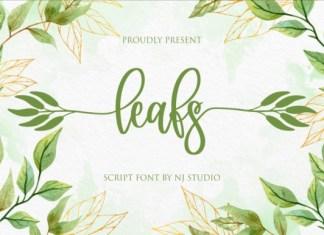 leafs Font