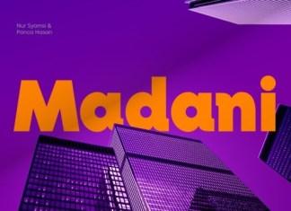 Madani Font