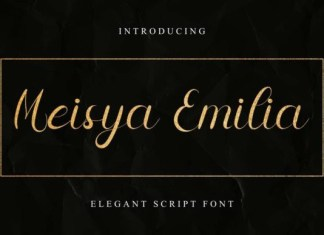 Meisya Emilia Font