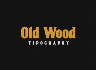 Old Wood Font