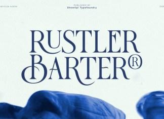 Rustler Barter Font