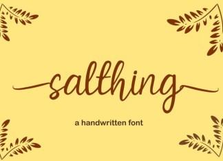 Salthing Font
