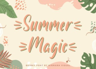 Summer Magic Font