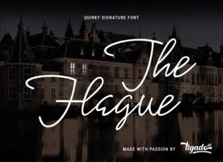 The Hague Font