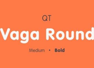 Vaga Round Font